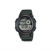 Reloj CASIO AE-1000W-3AVCF World Time Collection Análogo-Digital ILUMNATOR-Verde