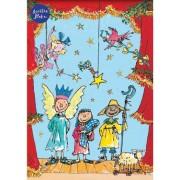 adventskalender A4+ met envelop - kersttafereel