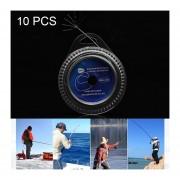10 Pcs 60 Lbs 7 Hebras De Alambre De Acero Trenzado De La Linea De La Pesca La Pesca De Mar