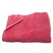 Atmosphera Créateur d'intérieur Ručník, růžový ručník, bavlněný ručník - růžová barva, 130 x 70 cm