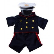 """Marines Outfit Teddy Bear Clothes Fit 14"""" - 18"""" Build-A-Bear, Vermont Teddy Bears, and Make Your Own"""