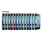 LOVE MEI 0.7mm Aluminium Bumper for iPhone 5C - Gold