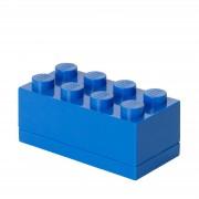 Lego Mini Ladrillo de almacenamiento LEGO (8 espigas) - Azul