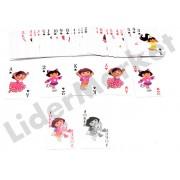 Carti de joc pentru copii - imprimeu Dora the Explorer