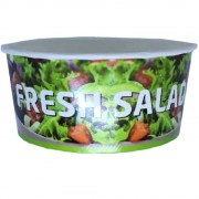 Caserola pentru Salate cu Capac, 750 ml, 50 Buc/Bax - Boluri pentru Livrare si Servire