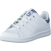 adidas Originals Stan Smith C Ftwr White/Eqt Blue S16, Skor, Sneakers och Träningsskor, Låga sneakers, Vit, Barn, 30