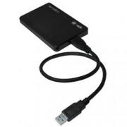 Logilink Box Esterno HHD/SSD 2.5'' da SATA a USB3.0 Screwless con Cavo