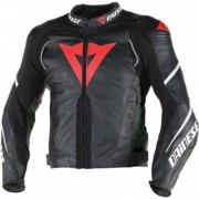 DAINESE Chaqueta Dainese Super Speed D1 Black / Anthracite / White
