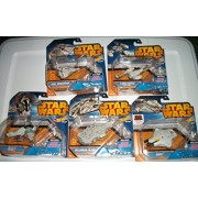5 Star Wars Hot Wheels Space Ships /BOBA FETTS / SLAVE 1/MILLENNIUM FALCON/ GHOST/ REBEL SNOWSPEEDER/ Y-WING FIGHTER...