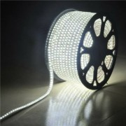 Led fénykábel, szalag 50m hideg fehér 230V 7W /m