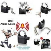 anti theft lock with high secutiry alarm siran voice