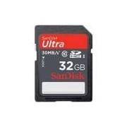 Cartão SD Sandisk Ultra UHS-I Classe 10 32GB