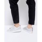 Ted Baker Светло-серые кожаные кроссовки Ted Baker Kulei - Серый