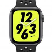 Apple Watch Nike+ Series 4 (GPS + Mobilfunk) mit Nike Sportarmband 44-mm-Sportuhr - Schwarz