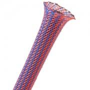 Sleeving Techflex Flexo PET Sleeve 9mm, blue/red, lungime 1m