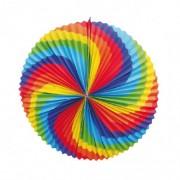Lampión okrúhly DÚHA priemer 34 cm [1 ks]