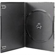 DVD-BOX 7 mm Единична тънка черна за DVD