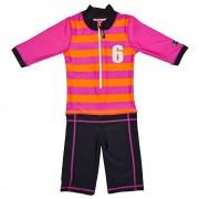 Costum de baie Sport pink marime 86-92 protectie UV Swimpy