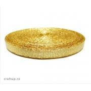 Bandă decorativă Evelina 10mm - Auriu (rolă 50m)