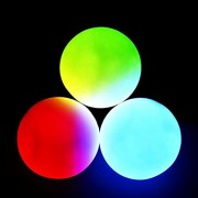 Glo Fx 78 Mm Professional Led Juggling Balls