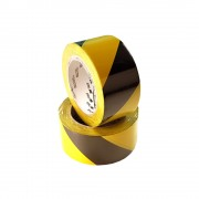 Banda marcare protectie, 2 culori, 3M 766i vinil, galben negru, 50mm x 33m 70006299831