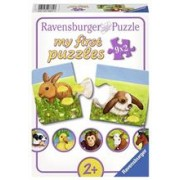 Puzzle My First Puzzles Adorable Animals (9X2 Pcs)