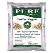 SkyMorn Pure Organic Sandalwood Powder ( Chandan Powder ) For Face 227 Grams