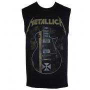 Majica bez rukava muška Metallica - Hetfield Iron Cross - Black - RTMTLVEBHET