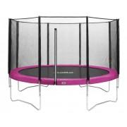 Salta Combo trampoline met veiligheidsnet ⌀244 cm - roze