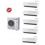 Samsung Penta Ar9500m Windfree Aj100fcj5eh/eu + 4 X Ar09mspxbwkneu + Ar12mspxbwkneu 9+9+9+9+12 Wi-Fi