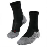Falke RU4 Wool Men Running Socks Black