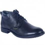 Shoebook Black Formal half Boot