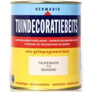 Hermadix Tuindecoratiebeits Taupe White Dekkend 717 750ml
