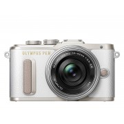 Olympus PEN E-PL8 kit (14-42mm EZ обектив), бял Цифров фотоапарат 17.2 Mp