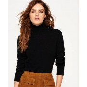 Superdry Pull skinny à col montant Luxe