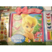 Disney Fairies Sticker, Paint, & Draw Activity Book ~ Fairy Magic
