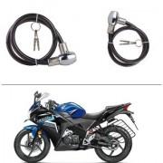 AutoStark Heavy Duty Multi Purpose Goti/Key Helmet Lock (Black) (Pack of 1) for Honda CBR 150R