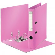 Biblioraft A4, plastifiat PP/PP, margine metalica, 50 mm, ESSELTE No. 1 Power - violet