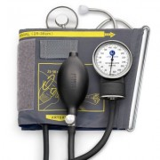 Tensiometru mecanic Little Doctor LD 71A, profesional, stetoscop atasat, manometru din metal