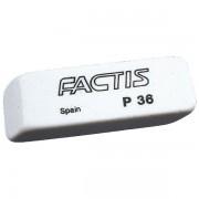Gumica plastična P36 soft Factis bijela-KOMAD 000002165