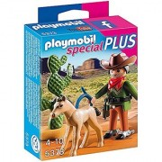 PLAYMOBIL Cowboy with Foal Playset