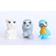LEGO Friends Animal Lot 4 - Dog Bunny Blue Mackaw