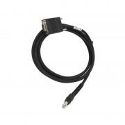 Cablu conexiune RS-232 cititor coduri de bare Datalogic PBT9500, PM9500, PD9530 DB9