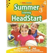 Summer Learning Headstart, Grade 3 to 4: Fun Activities Plus Math, Reading, and Language Workbooks: Bridge to Success with Common Core Aligned Resourc, Paperback/Lumos Learning