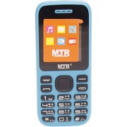 MTR MT-315 DUAL SIM MOBILE PHONE WITH 1.8 INCH SCREEN 800 MAH POWERFUL BATTERY AND LOUD SOUND BLUE COLOR