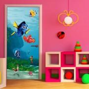 Poster Porte Némo Pixar 90x202 Cm - Enfants