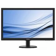 """Monitor Philips 27"""", V-Line, 273V5LHAB/00, 1920x1080 mat, LCD LED, TN, 1ms, 170/160º, VGA, HDMI, DVI-D, Zvučnici, crna, 24mj"""