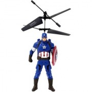 Captain America Flying Hand Induction Control with Led Light Gravity Sensor