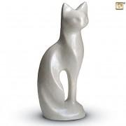 Messing Kattenurn White Pearl (0.5 liter)
