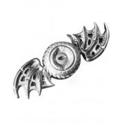 Dragon Steampunk Dragon Two Wings Metall Fidget Spinner - Silverfärgad